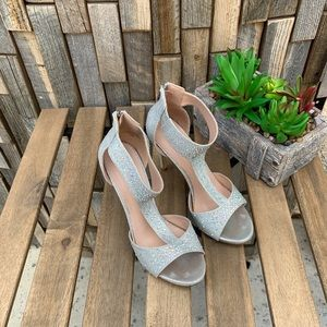 De Blossom Collection Isabella 10X Prom Shoes 6.5